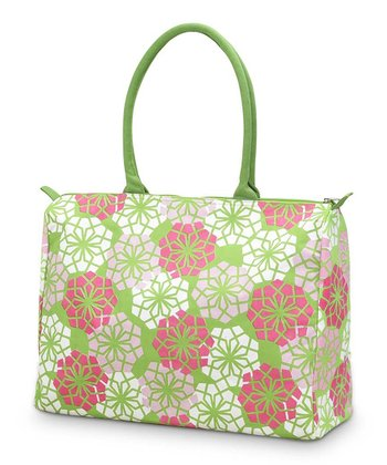 Green Everdeen Beach Tote