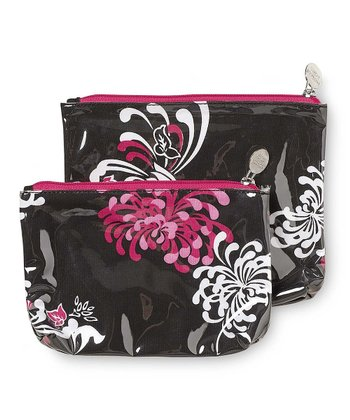 Flower Works Cosmetic Bag Set