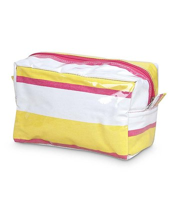 Yellow & Pink Chesapeake Cosmetic Bag
