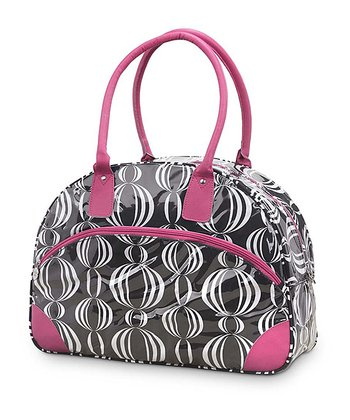 Black & Pink Pearly Girly Day Traveler
