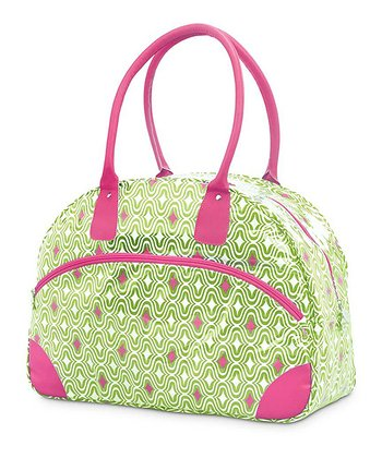 Green & Pink Curve Appeal Day Traveler