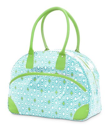 Turquoise & Green Curve Appeal Day Traveler