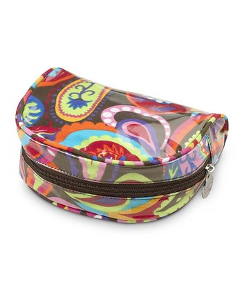 Paisley Pizazz Day Traveler Cosmetic Bag