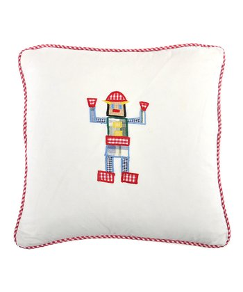Robot Appliqué Pillow