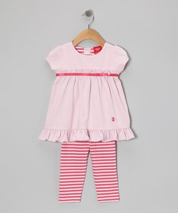 Pink Ruffle Tunic & Leggings - Infant & Toddler