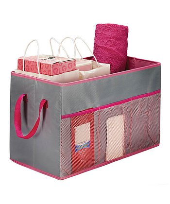 Feather Gray Trunk Organizer