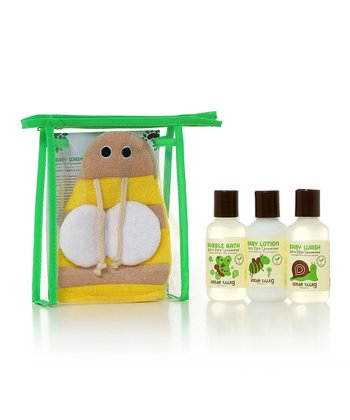 All Natural Unscented Bumblebee Bath Set