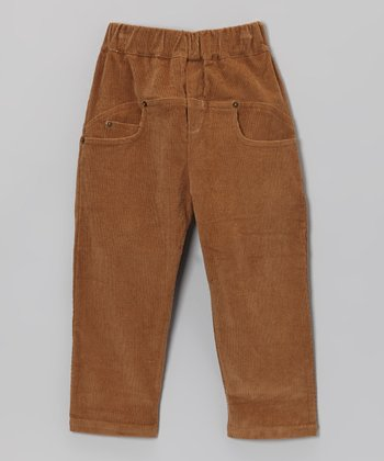 Brown Classic Corduroy Pants - Toddler & Boys