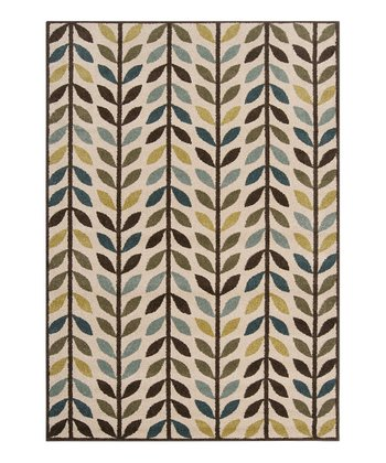 Brown & Blue Monterey Rug