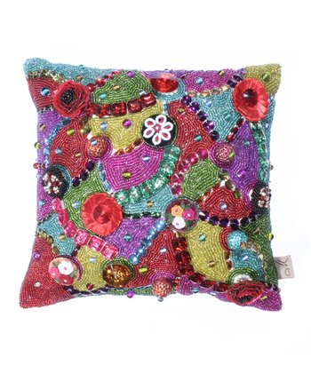 Brielle Beaded Throw Pillow