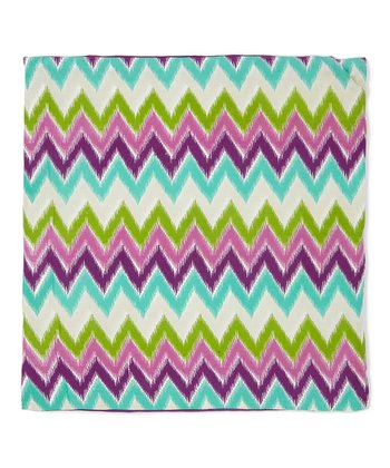 Zigzag Accent Pillow
