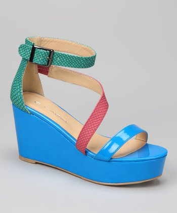 Blue Bottega-3 Sandal