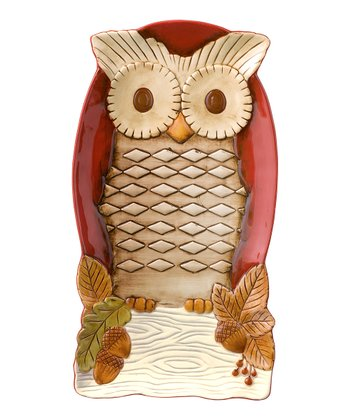 Red Owl Tray