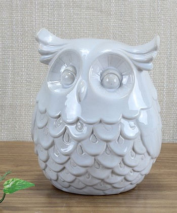 Owl Ceramic Figurine