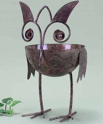 Metal Owl Figurine