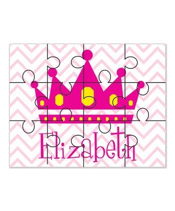 Princess Personalized 12-Piece Jigsaw Puzzle