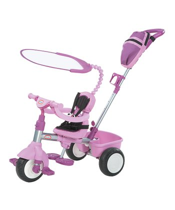 Purple 3-in-1 Deluxe Trike