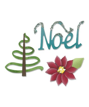 Karen Burniston 'Noel' Sizzlits Die Set
