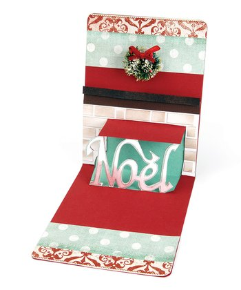 Karen Burniston 'Noel' Pop 'n' Cuts Magnetic Insert Die