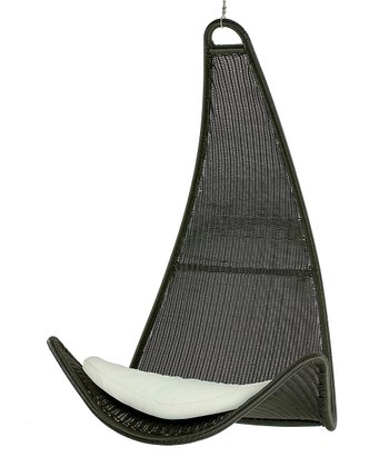 Canvas Pillow & Urban Balance Curve Chair