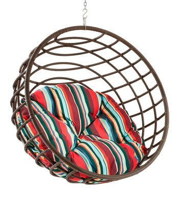 Stripes Pillow & Urban Balance Sphere Chair