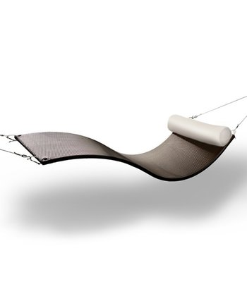 Chocolate & Canvas Urban Balance Wave Chair