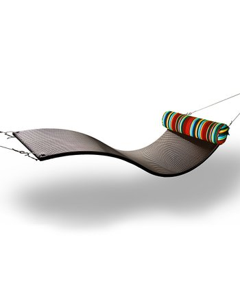Chocolate & Stripe Urban Balance Wave Chair