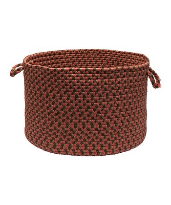 Rusted Rose Tiburon Utility Basket