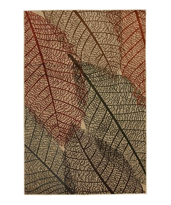 Fossil Leaves Rug