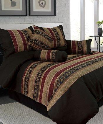 Jacquard Lavish Home Comforter Set