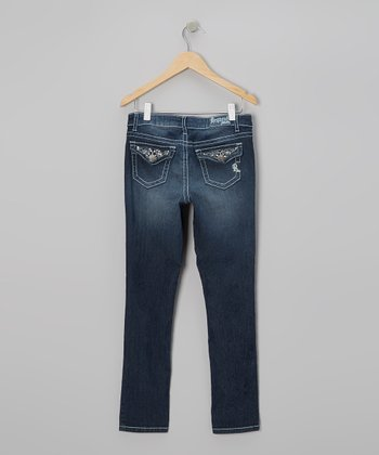 Medium Wash Liverpool Jeans - Girls