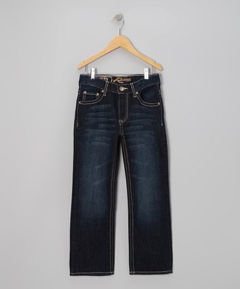 Dark-Wash Boyle Jeans - Boys