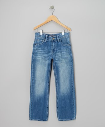 Light-Wash Trimble Jeans - Boys