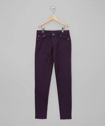 Purple Passion Skinny Jeans