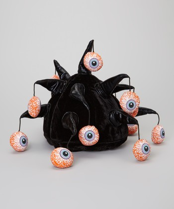 Black Very Horned Eyeball Hat