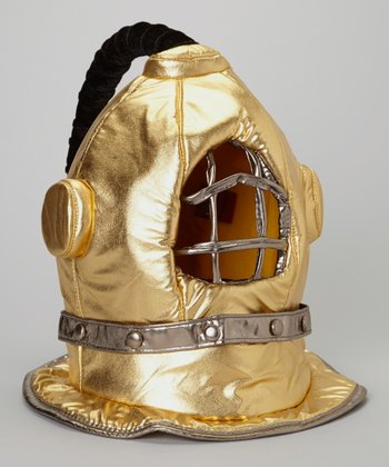 Gold Diving Bell Helmet