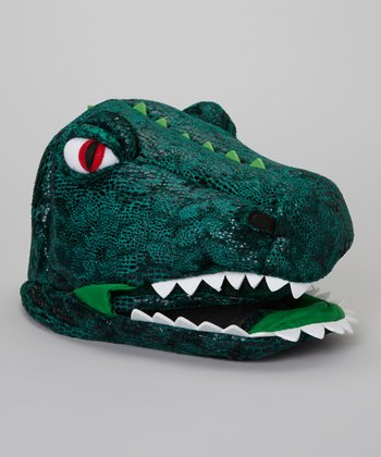 Green T- Rex Hat