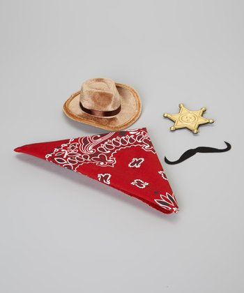 Red Cowboy Dress-Up Set