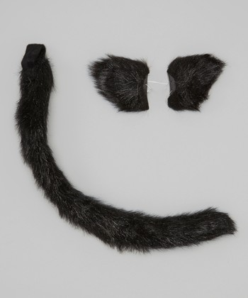 Black Cat Ears & Tail
