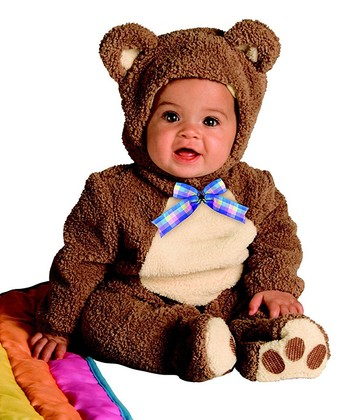 Brown Oatmeal Bear Costume & Blanket - Infant