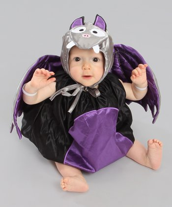 Black & Purple Bat Dress-Up Set