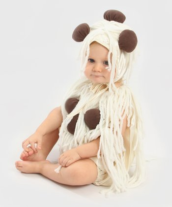Tan & Brown Spaghetti & Meatballs Dress-Up Set