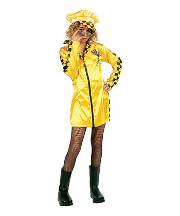 Yellow Speedster Costume Set - Girls