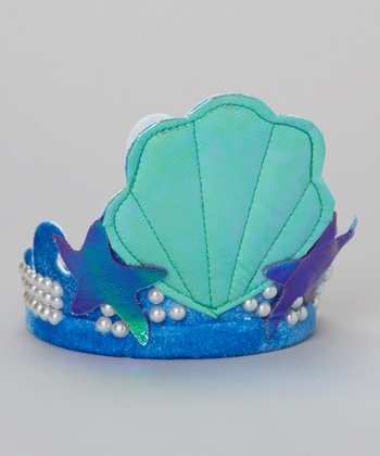 Blue Mermaid Headband