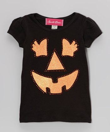 Black Jack-O-Lantern Tee - Infant, Toddler & Girls