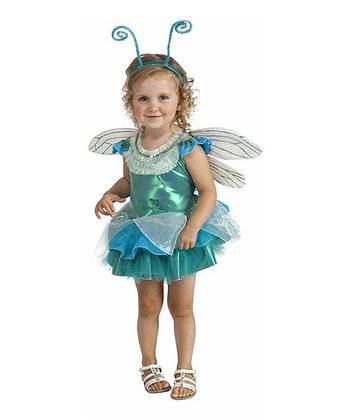 Blue Dragonfly Dress-Up Set - Toddler