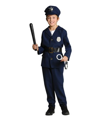 Navy The Finest Dress-Up Outfit - Kids