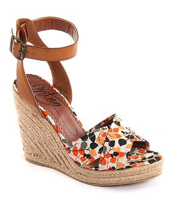 Orange Espadrille