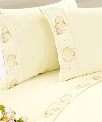 Ivory Seashell Sheet Set