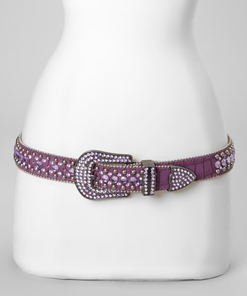 Purple Jewel Road Belt